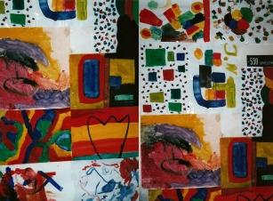 Kunstwerke von Kindern